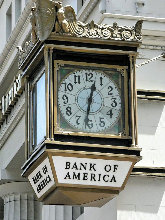 Bank of America San Fran