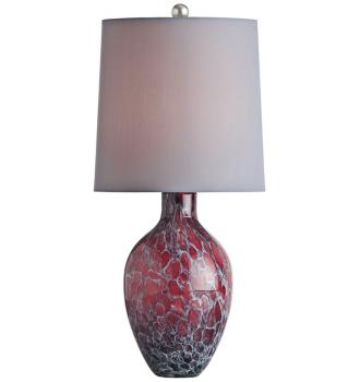 Ty orchid table lamp
