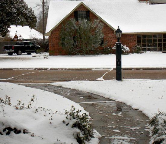 Louisiana Snow Day