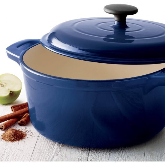 blue dutch oven