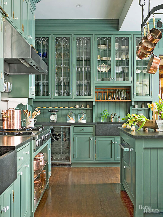 green-cabinets
