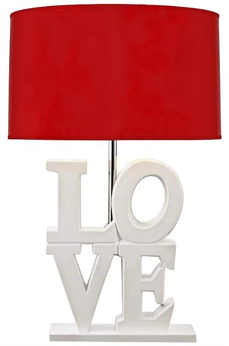 love art table lamp