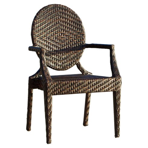 wicker outdoor chair