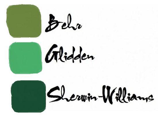 shamrock paint colors