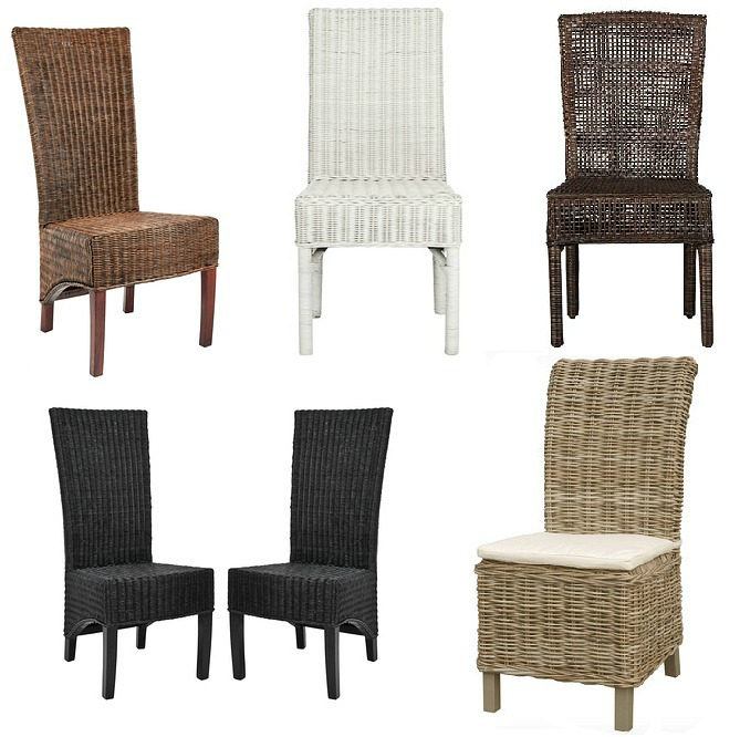 wicker-rattan-dining-chairs