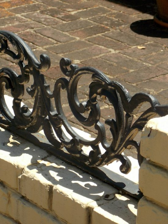 ornamental wrought iron