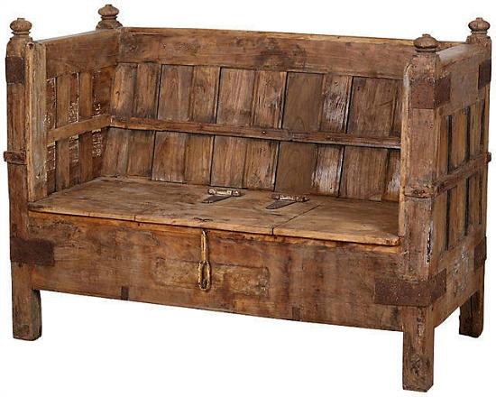 bench-storage