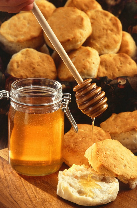 honey-biscuits