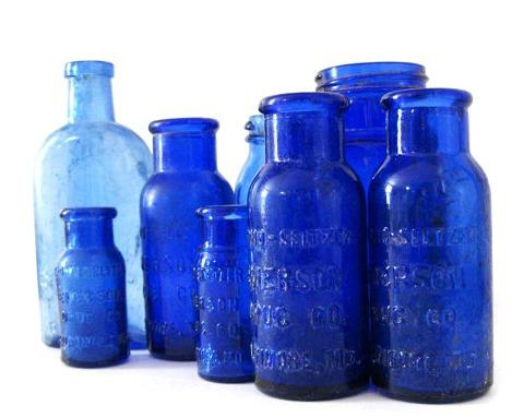 vintage-cobalt-blue-bottles