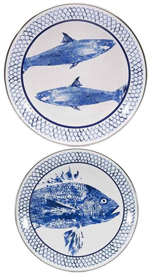 fish-blue-plates