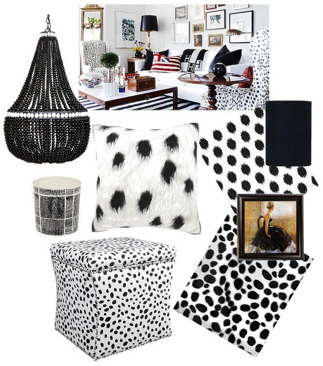 black-and-white-spotted-home-decor