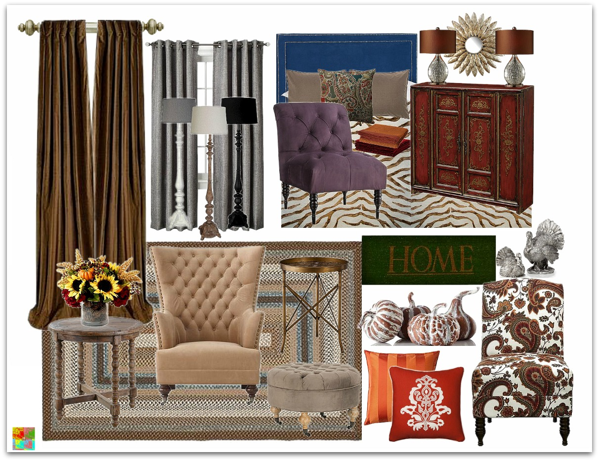 Decorating ideas for fall places in the home for Home decor places