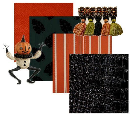 Halloween-fabric