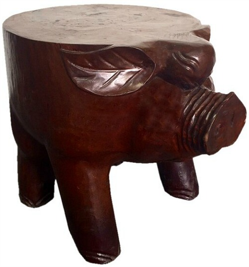 Pig Accent Stool
