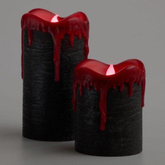 black-red-wax-drip-pillar-candles