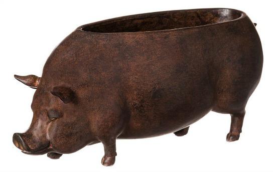 Cape Craftsmen Pig Planter