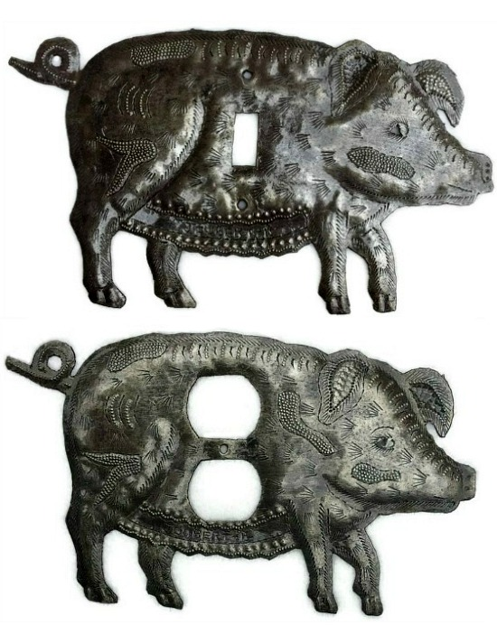 pig outlet cover