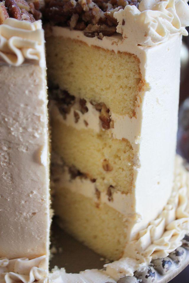 Butter-pecan-cake