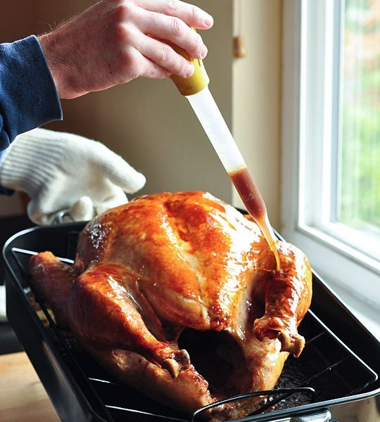 basting-a-turkey
