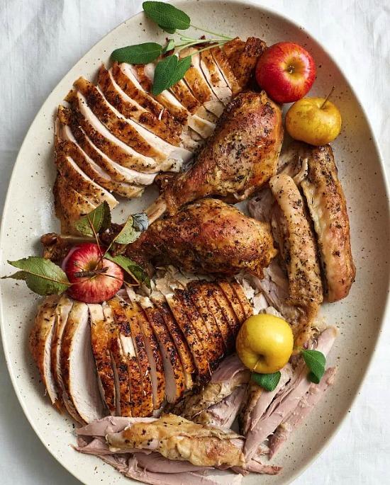 carved-turkey-the-kitchn