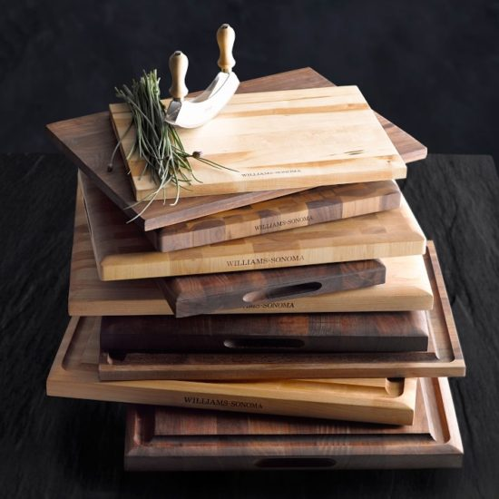Williams Sonoma Edge-Grain Carving Board