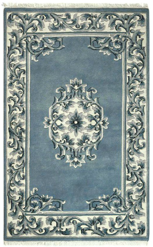 blue-white-rug