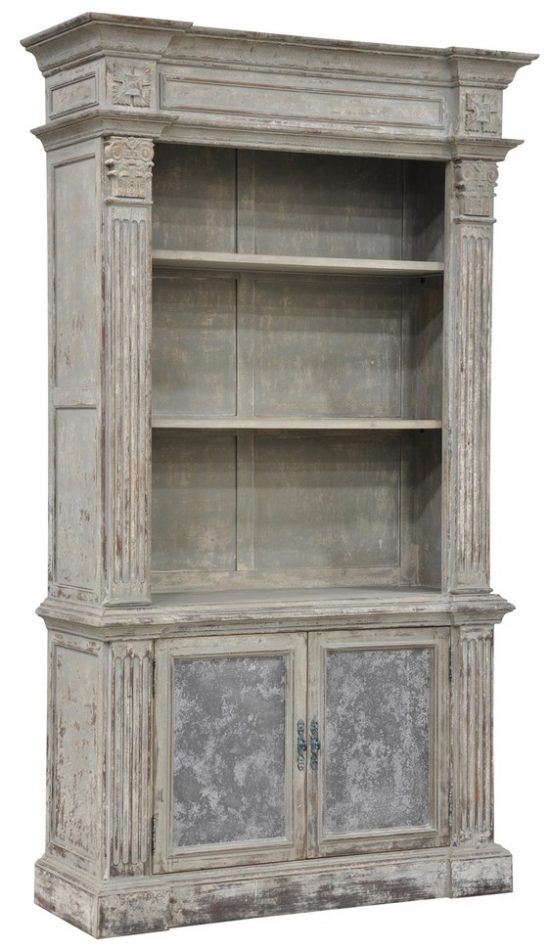 holiday-Chael-Distressed-Pine-Bookcase