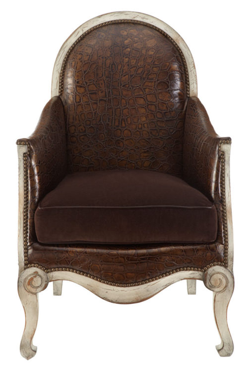 """Sinclair"" Leather Chair"