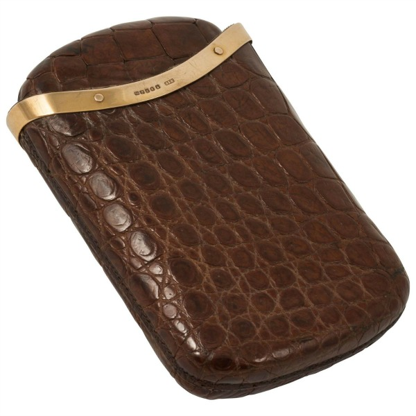 crocodile-cigar-case
