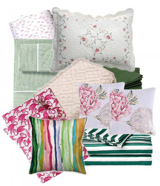 green-pink-sheets
