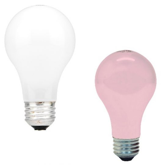 white-pink-light-bulbs