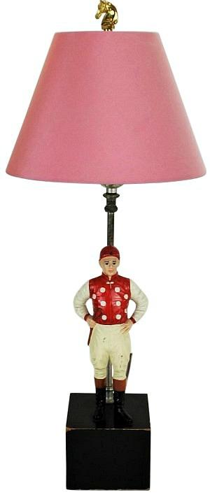 """""""21"""" Club Jockey Lamp"""