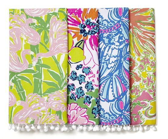 Lilly-Pulitzer-target-home_napkins-with-pom-pom-trim---set-of-4