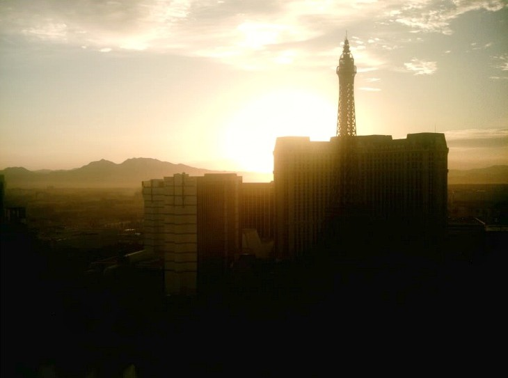 Vegas-sunrise