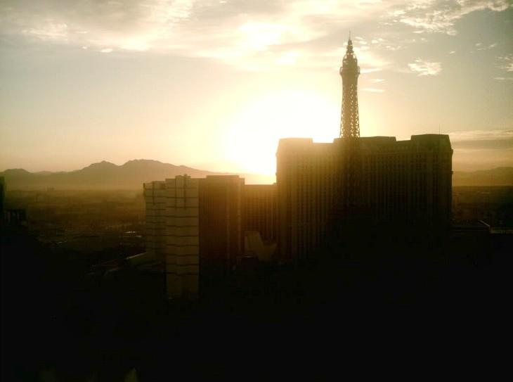 Vegas-sunrise