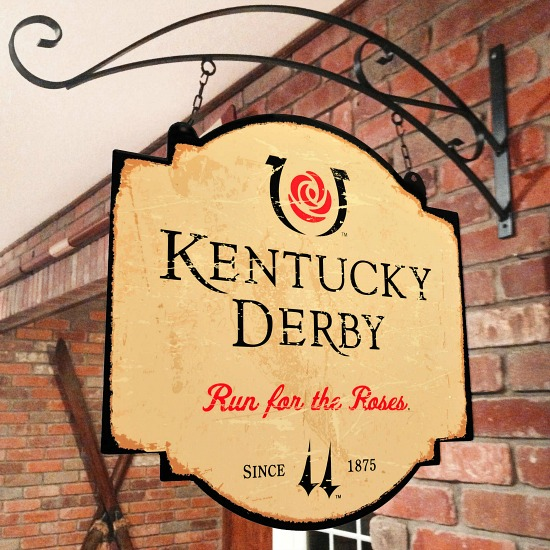 Kentucky Derby Tavern Sign