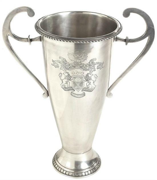 Nickel Etched Trophy