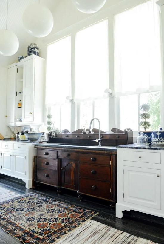 antique-sideboard-turned-kitchen-sink-unit