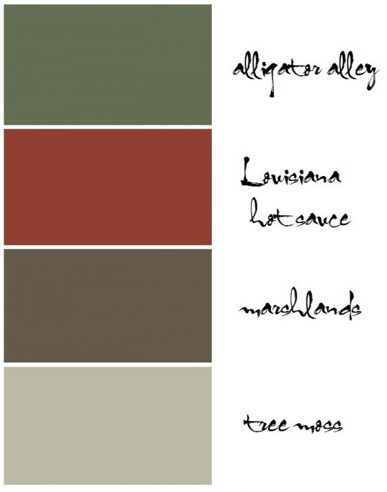 Louisiana-paint-colors