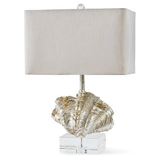 clam-shell-table-lamp
