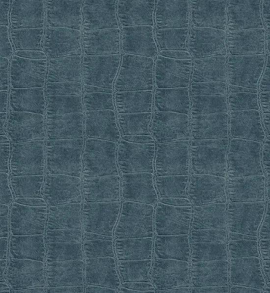 Chesapeake By Brewster Man20096 Gentlemen'S Quarters Logan Blue Croc Texture