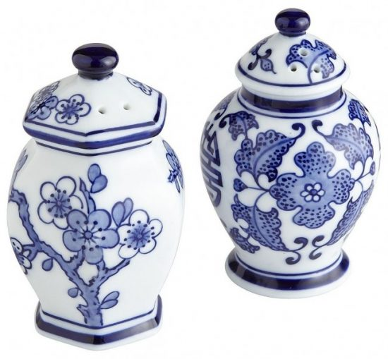 blue-white-salt-pepper-shakers