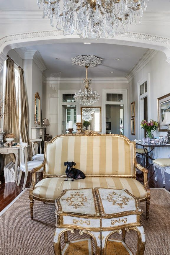 New orleans architectural styles places in the home for Interior designs new orleans