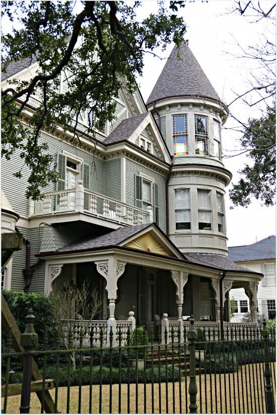 New orleans architectural styles places in the home for New victorian style homes