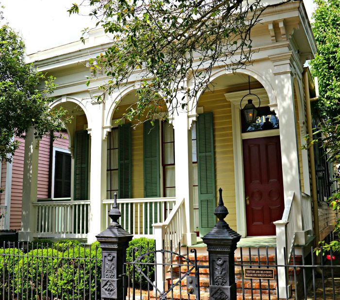 New Orleans Architectural Styles Places In The Home