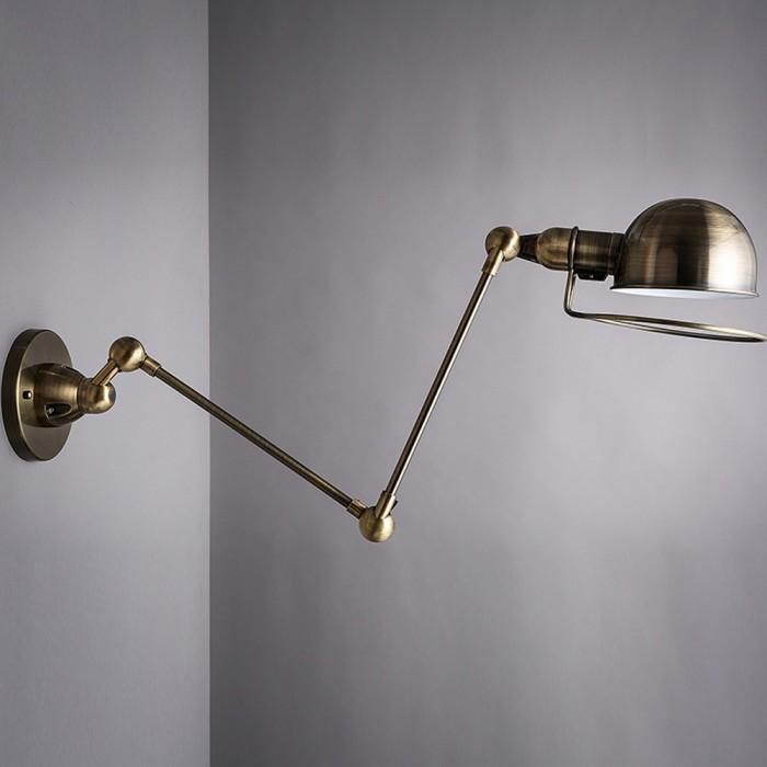 Wall-Lamp-Iron-Art-Swing-Arm-Light-Black-Golden-Vintage-Loft-Wall-Sconce-For-Aisle-Bar