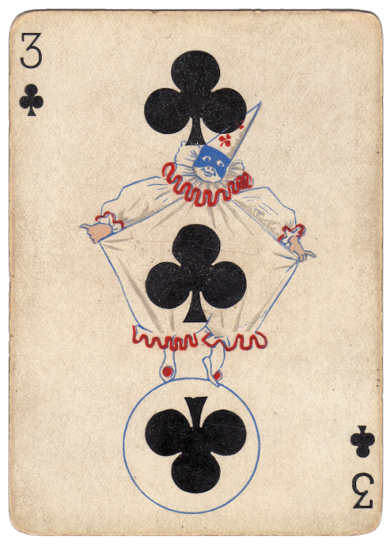 Pierrot-playing-card