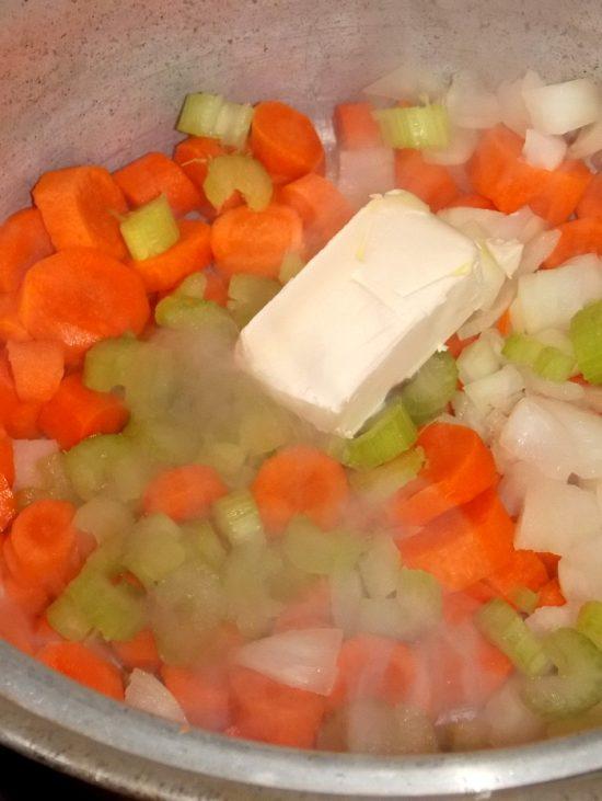 onions-carrots-celery-butter