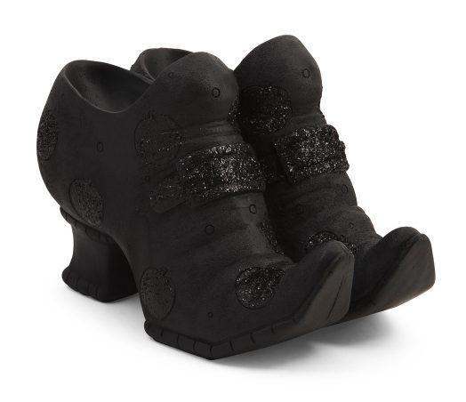 Resin Women's Shoes Decor