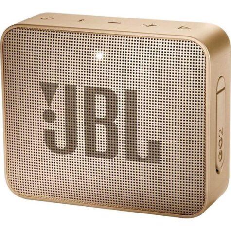 JBL - GO 2 Portable Bluetooth Speaker - Gold